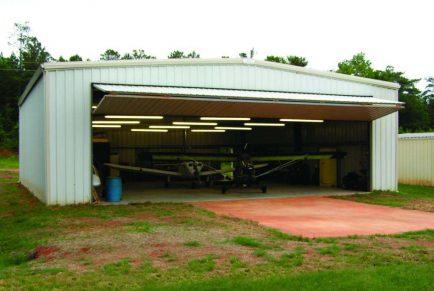 Construction: build a hanger