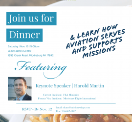Dinner with MissionWings